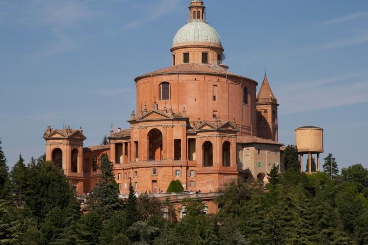 Bologna, italy, honeymoon in Italy, San Luca, basilica,