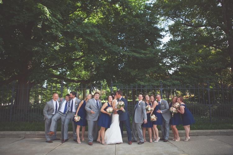 bridal party, wedding photos, springfield illinois wedding, wright photographs, bridesmaids, groomsmen, jcrew, flower girl, ring bearer
