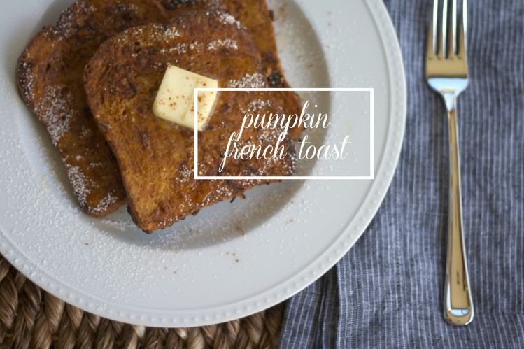 pumpkin french toast, recipes, pumpkin recipes, baking, brunch, breakfast, french toast,