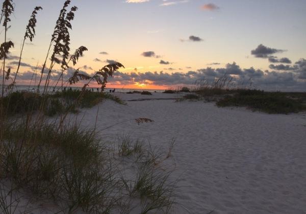 Sarasota, lido beach, florida, beach, sunset, lido key