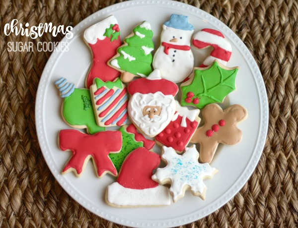 Christmas sugar cookies, royal icing, santa christmas cookie, christmas sugar cookies, snowman cookies, ornament cookies, christmas tree cookies, holly cookies, stocking cookies, present cookies, decorating, wilton,