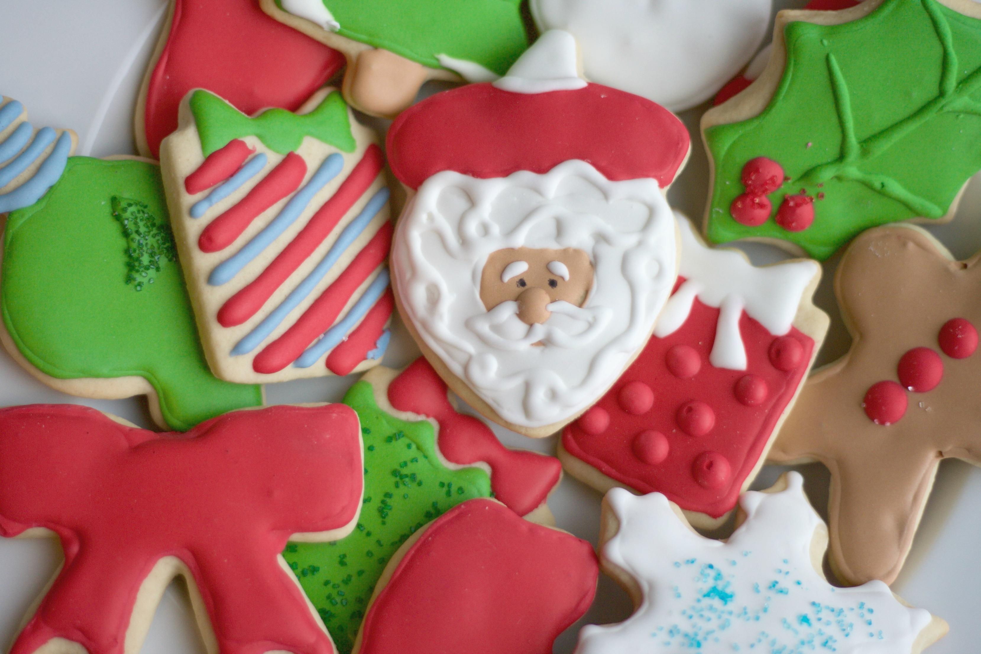christmas sugar cookies royal icing santa christmas cookie christmas sugar cookies snowman