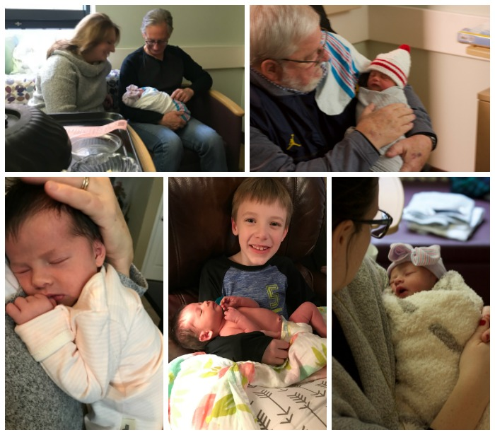 Emma Irene, birth story, newborn photos, baby girl, christmas eve, newborn, welcome emma irene